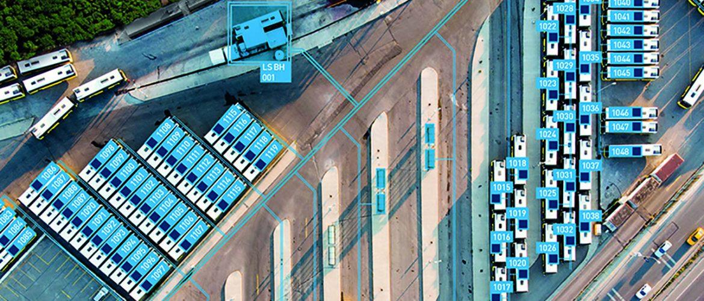 Visualisierung Elektrobusplanung